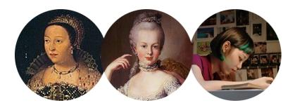馬卡龍女子-凱瑟琳、瑪麗、現代女孩